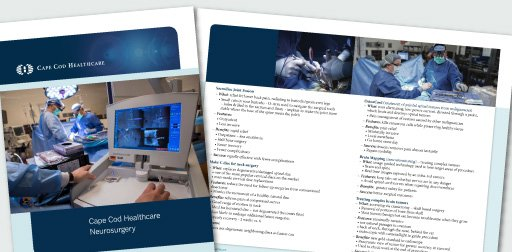 Neurosurgery Pateitn Brochure to Download