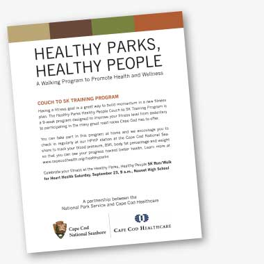 Healthy Parks, Healthy People - Couch to 5k Training Program