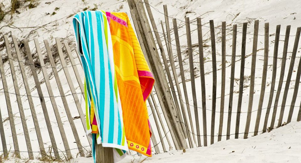 Should you be afraid of your beach towel?