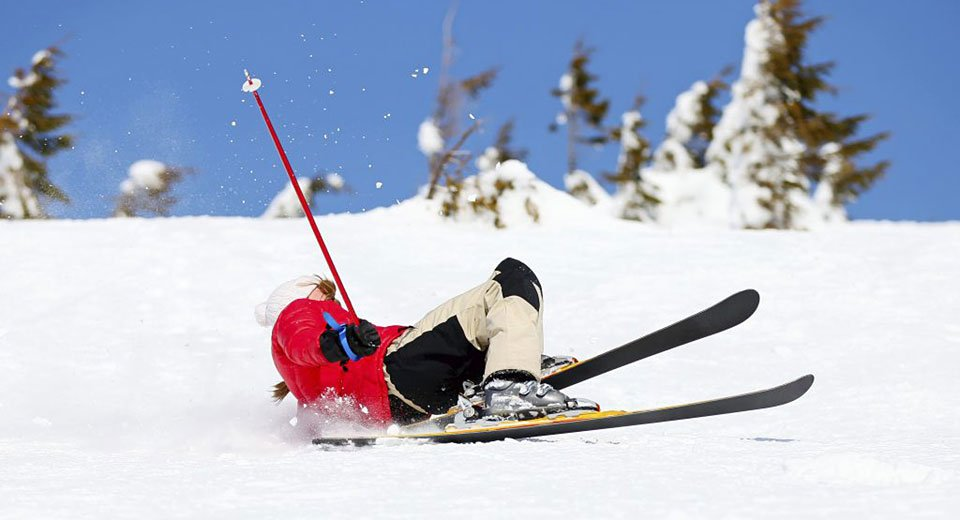 Kết quả hình ảnh cho Wrists and ankles slipped due to skiing: