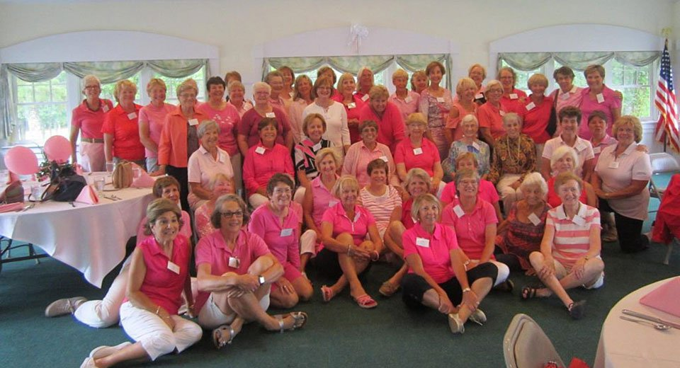 Hitting the links to support breast care