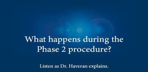 What happens during the Phase 2 procedure?