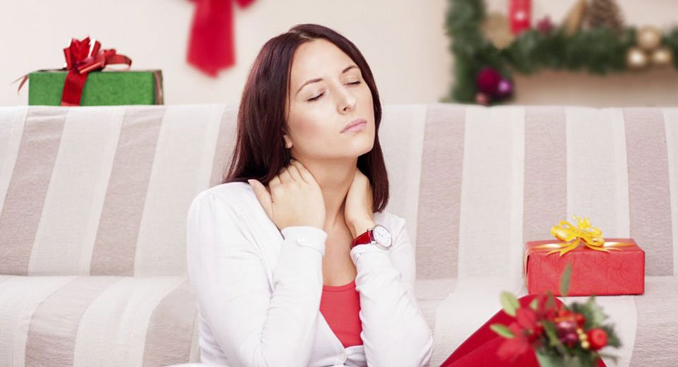 Don't let the holidays be a pain in the neck – or back