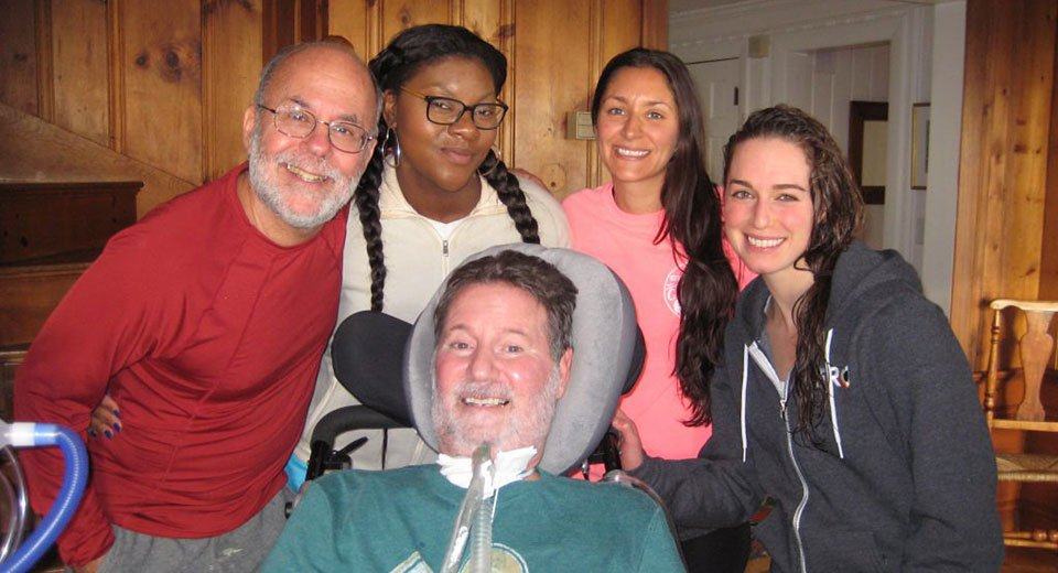 Living with ALS, and making the best of it