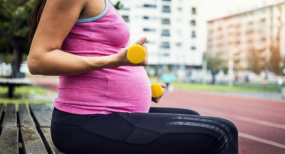 Exercise is OK for most when you have a baby on the way
