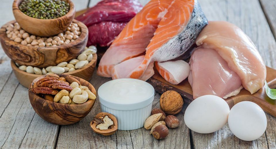 Feeling weak? Include protein at all meals