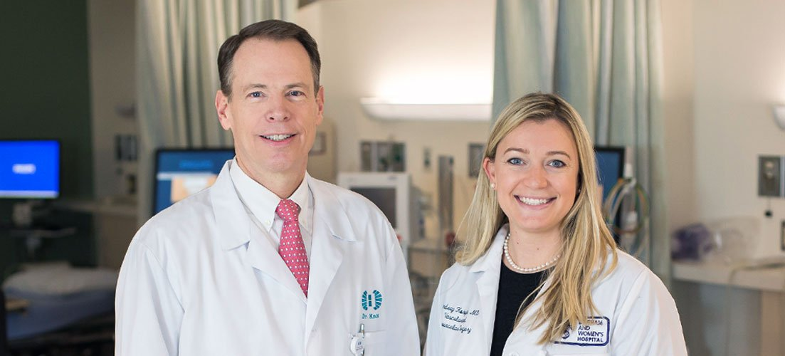 James Knox, MD, FACS, RVT and Lindsey Korepta, MD, RPVI - Vascular Surgery