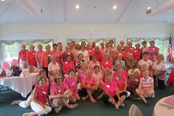 Rally for Women through their golf tournament helped to raise $2,700 for Cape Cod Healthcare's Cuda Women's Health Center. We are so grateful for the support of our community!