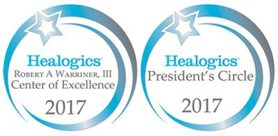 Healogic Center of Distinction and Center of Excellence Awards