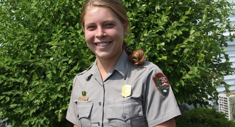 Young ranger comes home to get Cape Cod walking