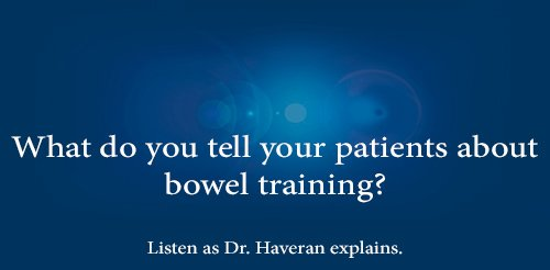 bowel training